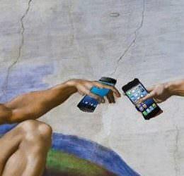 #Netzmüll:er: HTC hat sein #SelfieDesaster - weil das Selfie-Testimonial die Fotos mit dem iPhone schießt