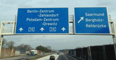 Autobahn A115 Fernbus