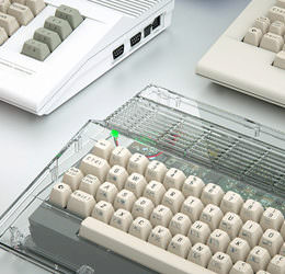 Optische Täuschung bei Kickstarter: Die C64-Hülle gaukelt ein Comeback des Kult-Computers vor