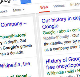 Bye, bye, lange URL-Darstellung: Google optimiert seine Suchergebnisse für Smartphone-Nutzer
