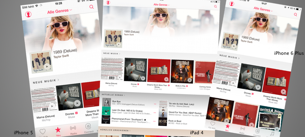 Apple Music Displays