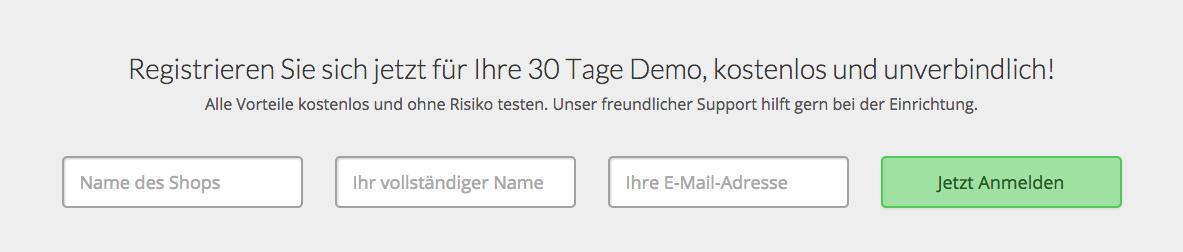 Ganz einfach einen Online-Shop ohne eigene Server starten.