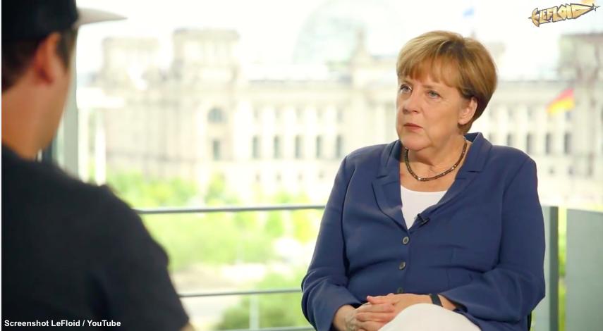 Merkel LeFloid