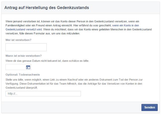 Facebook_Gedenkstatus