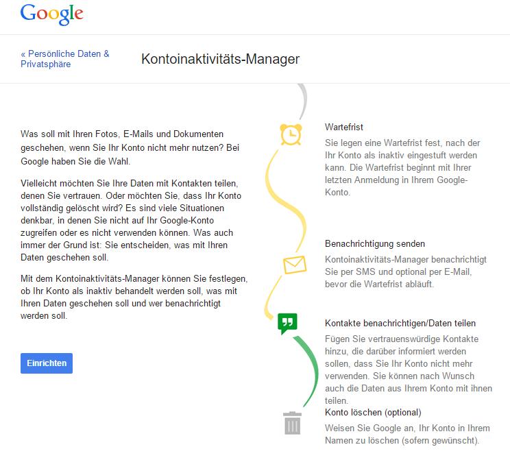 Google_Kontoinaktivitaet