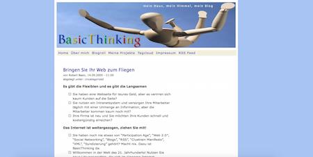 BASIC thinking 2004