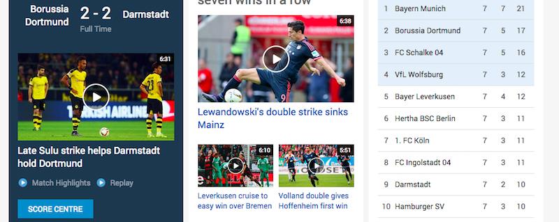 Bundesliga Stream Online
