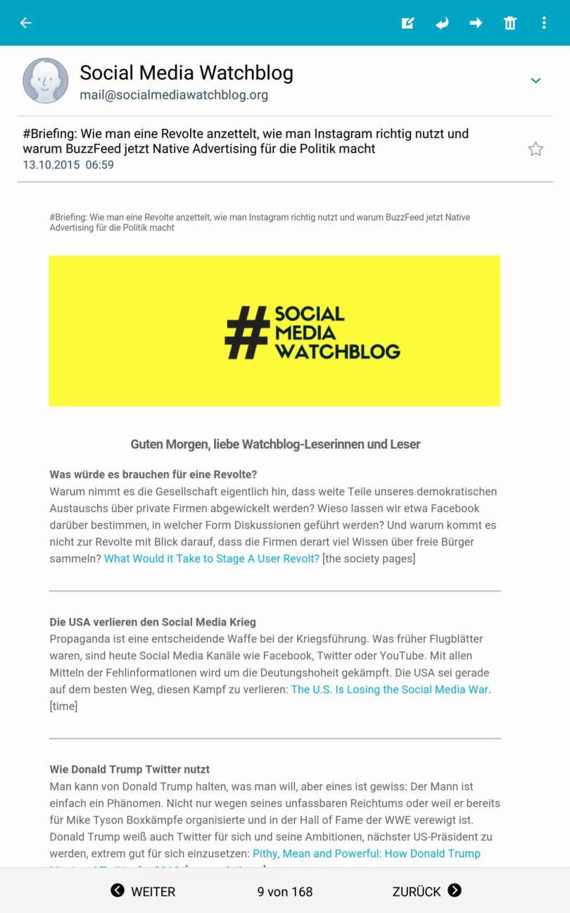 Social Media Watchblog