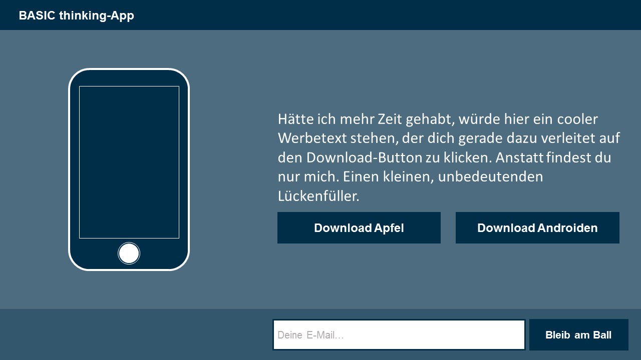 basic-thinking-app-lanidng-page-skizze