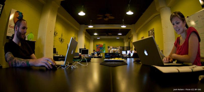 Die Geschichte des Coworking