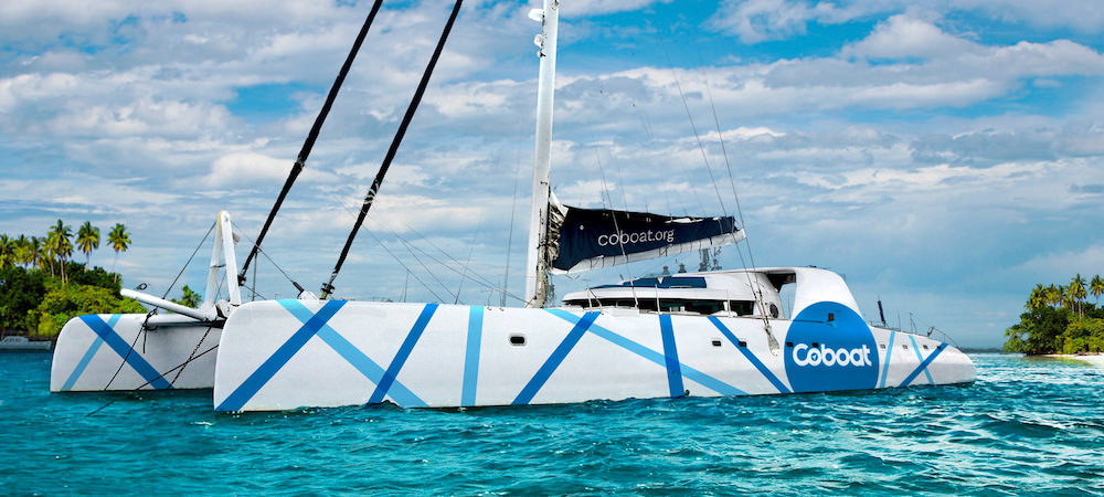 Coworking für digitale Nomaden, Teil III: Schiff ahoi auf dem ersten Katamaran für Coworker