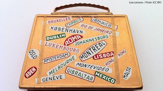 Reisegepäck digitale Nomaden