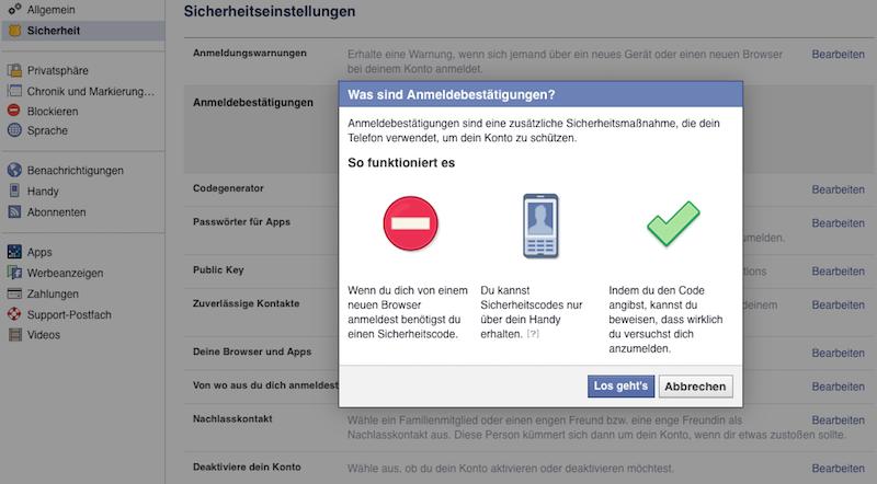 Safer Internet Day Facebook Sicherheit und Privatsphäre