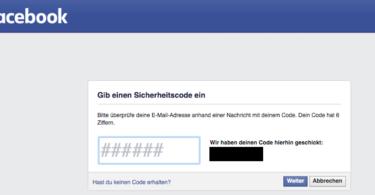 Facebook Bug Hack Facebook-Konto Passwort