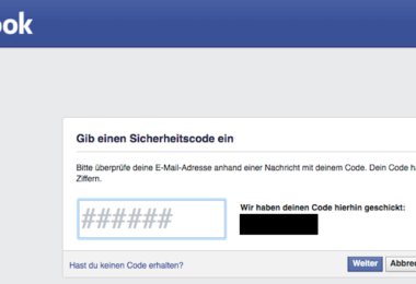 Facebook Bug Hack Facebook-Konto Passwort