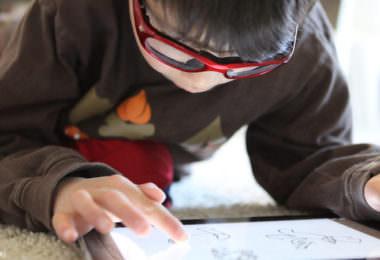 Kinder Technik iPad Tablet Kulturtechnik