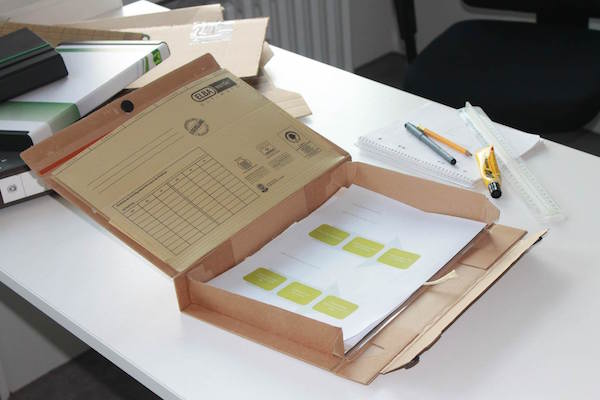 fileee box Prototyp