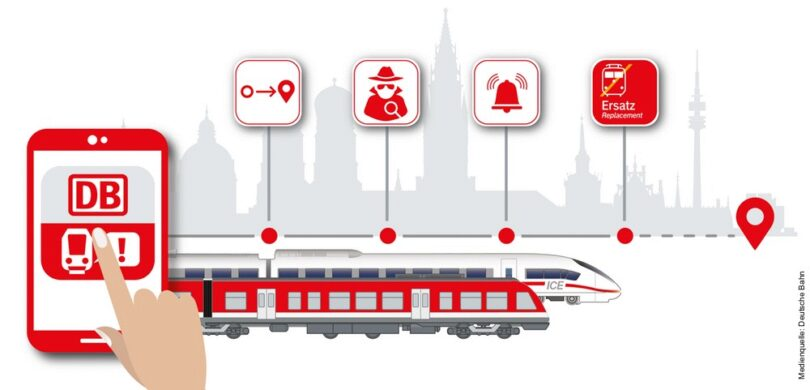 """App """"Streckenagent"""" von DB Regio Bayern"""
