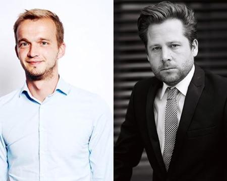 Robert Neuhann und Julian Heister