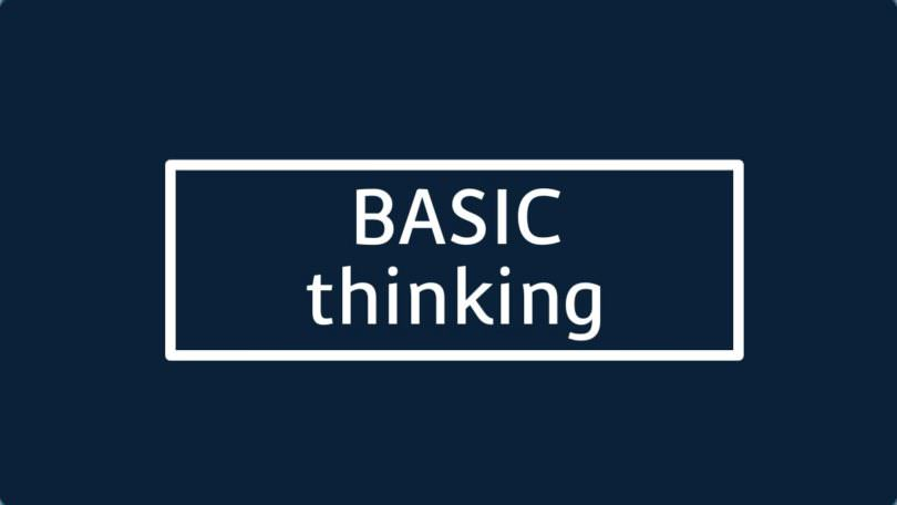 Placeholder BASIC thinking