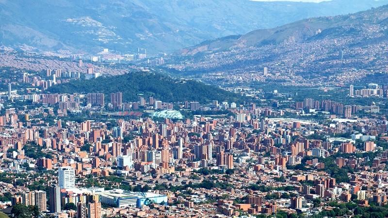 Medellín Luftansicht
