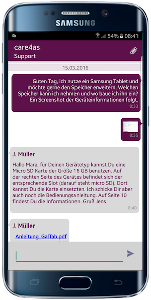 SeSaM Chat Android