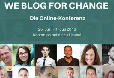 We blog for Change
