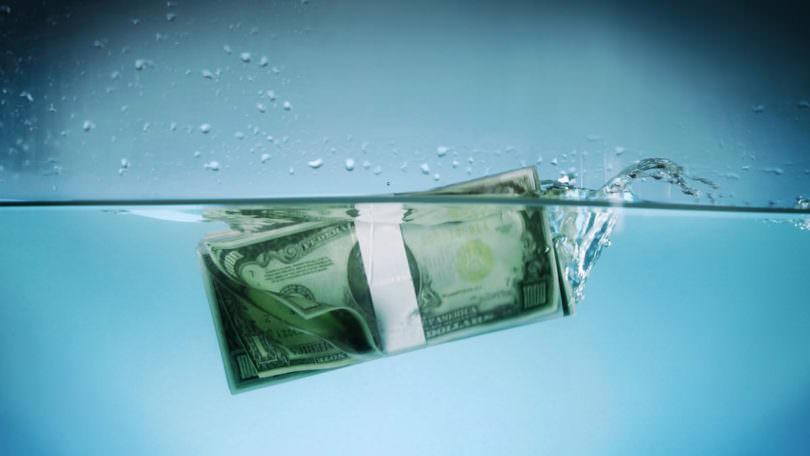 Achtung Pleite App Geld