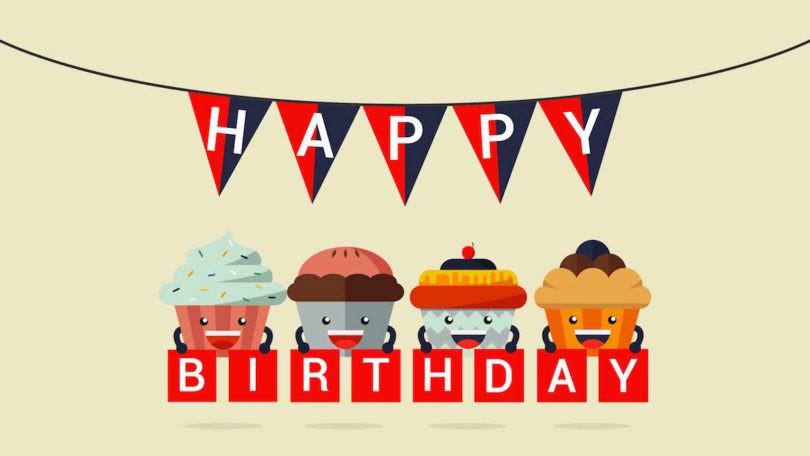 BASIC thinking Geburtstag Happy Birthday