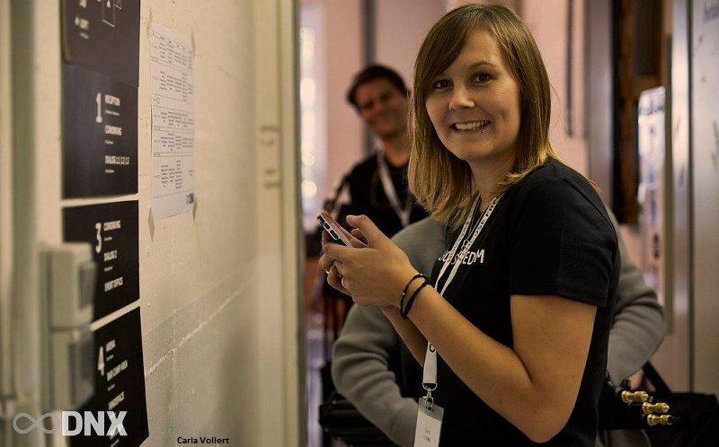 Carla Vollert auf der DNX