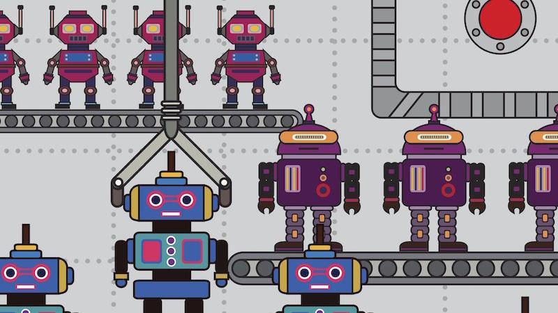Roboter RoboCup
