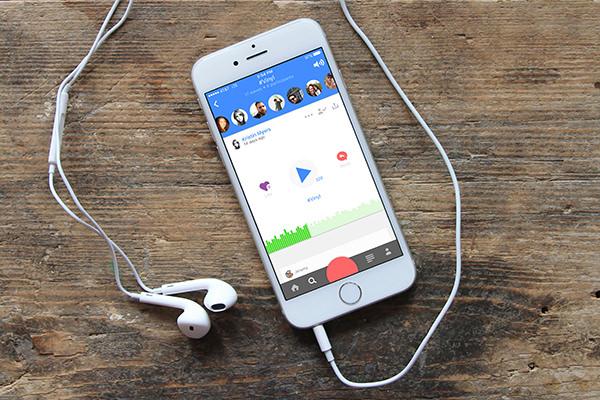 Die App Anchor fühlt sich an wie ein Twitter zum Hören. Foto: anchor.fm