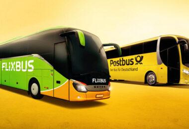 Flixbus und Postbus