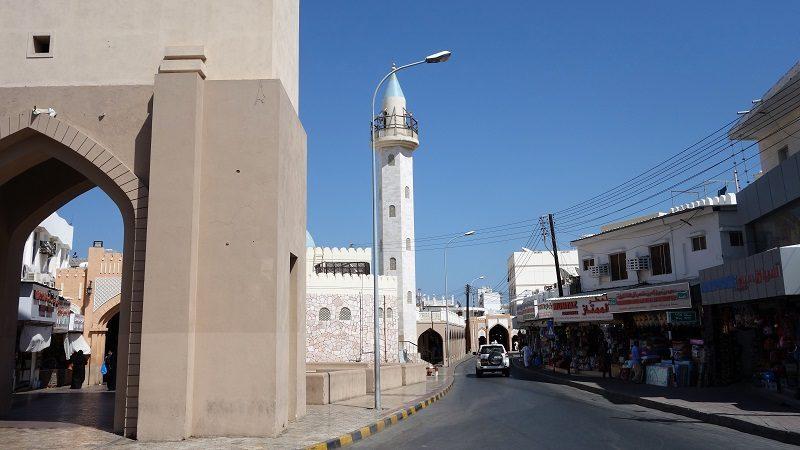 Straße in Maskat, Oman