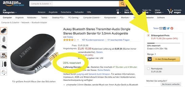Amazon Blitzangebote Angebote Schnäppchen