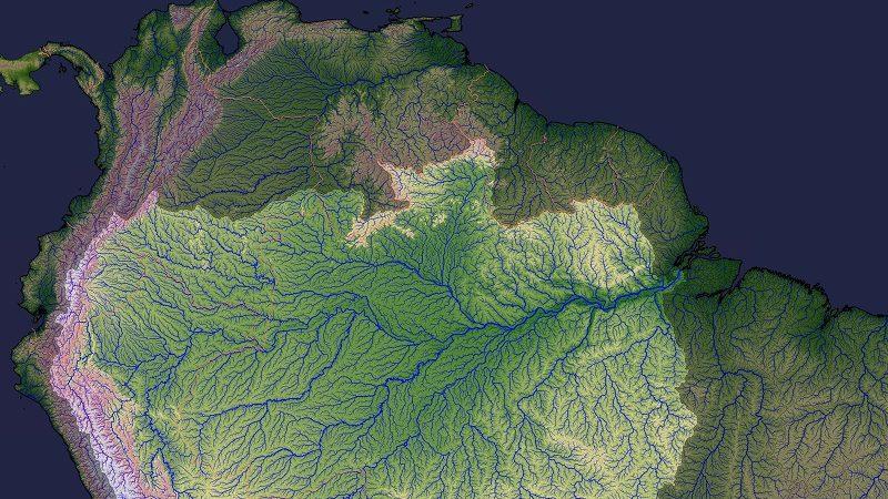 Amazonasverlauf