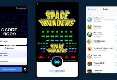 Facebook Messenger Spiele