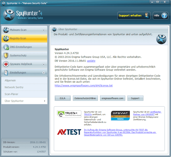 SpyHunter 4 Anti Malware