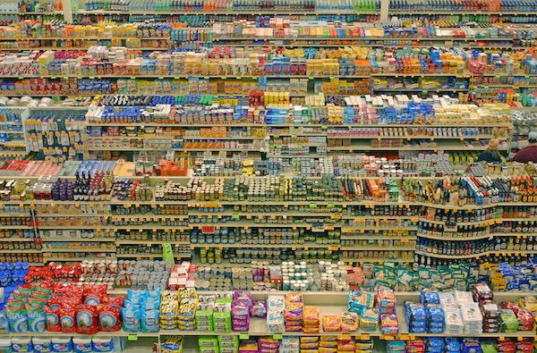 supermarkt überfluss