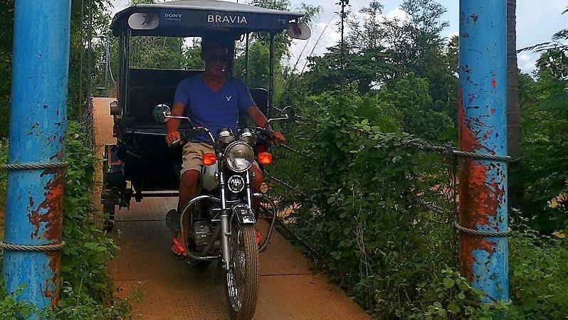 Motorrad + Taxi = Tuk Tuk