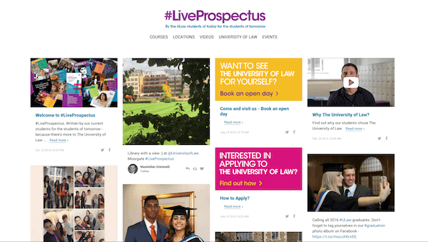 University of Law - #LiveProspectus