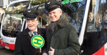 NRW-Verkehrsminister Michael Groschek (l.) und der KVB-Vorstandsvorsitzende Jürgen Fenske. Bild: Jörg Heupel