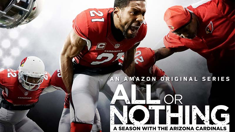 All or Nothing NFL Arizona Cardinals Amazon Prime Video Serie