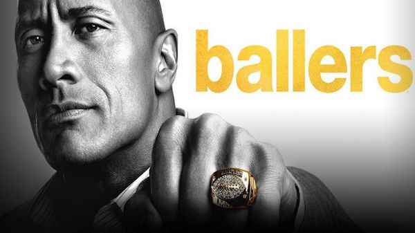 ballers nfl serie dwayne the rock johnson