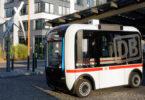 Autonomer Berliner Mini-Bus der DB. Bild: Deutsche Bahn AG / Volker Emersleben