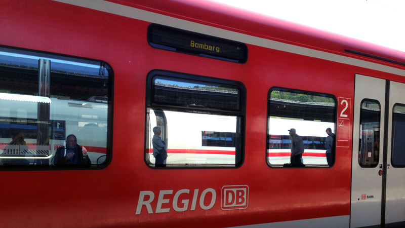 Regionalzug von DB Regio