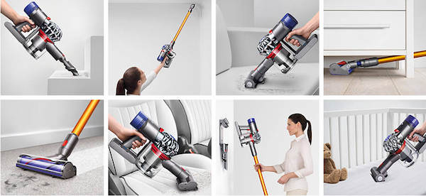 dyson v7 motorhead beutel kabelloser staubsauger inkl. Black Bedroom Furniture Sets. Home Design Ideas