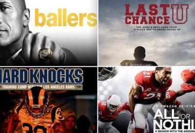 Football NFL Serien Ballers Last Chance U Hard Knocks All or Nothing
