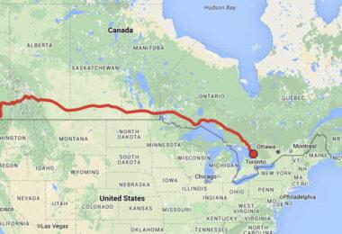 Trainhopping Kanada © McVast