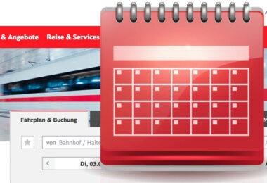Deutsche Bahn Kalender